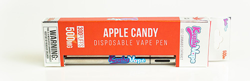 kushy vape apple candy