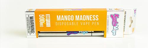 kushy vape mango madness