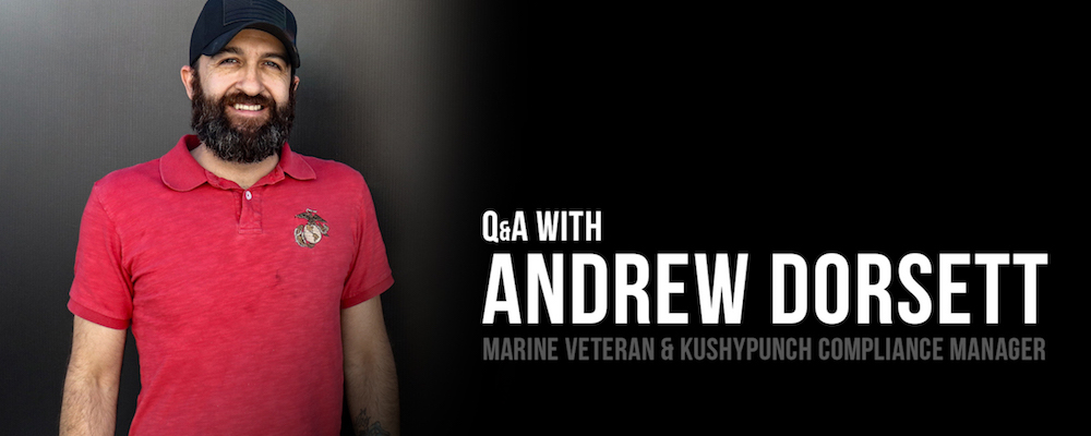 KushyPunch Honors Veterans – Interview with Former Marine Andrew Dorsett