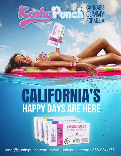california happy days are here